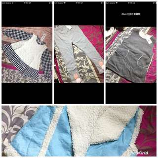 $70/4 kids export clothes for 3-5 years old