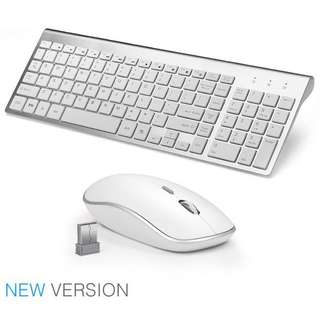 JOYACCESS 2.4G Wireless Keyboard and Mouse Combo