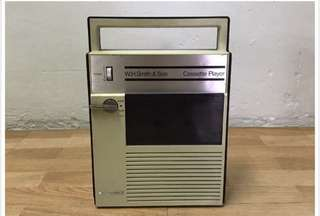 Antique Cassette Player
