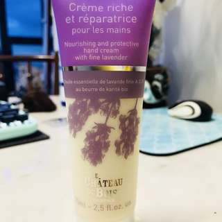 NOURISHING AND PROTECTIVE HAND CREAM WITH FINE LAVENDER