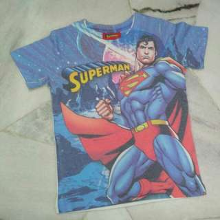 Superman Tshirt (5-6 yo)