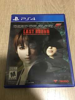 PS4 Dead Or Alive 5 : Last Round