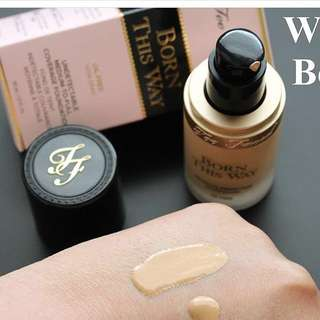 Trial Too faced Foundation Born This Way