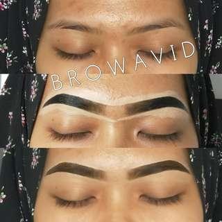 Halal Henna Eyebrow Tinting