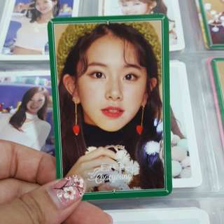 Chaeyoung Merry & Happy Special Photocard