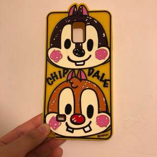 Note 4 chip and dale phone case