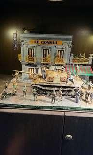 1/35 Scale Model miniature diorama - April 16, 1945 : Surrender at Iserlohn