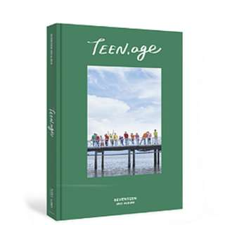 ON HAND UN SEALED  Seventeen Vol. 2 Album - Teen, Age (Green Version) - CD, CD Case, Photobook, Lyrics Paper