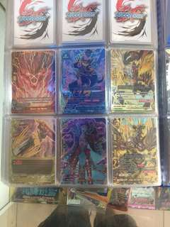 Buddyfight Drive to Disorder Foils