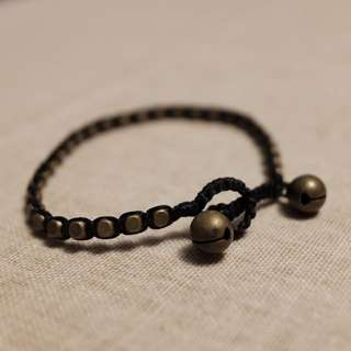 歐美黃銅手繩 black copper bracelet