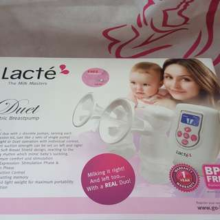 Lacte Duet Electric Breastpump