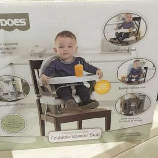 Baby does - foldable booster seat