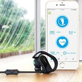[EP-B30] AUKEY Wireless Headphone with Heart Rate Monitor and Sports APP