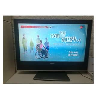 Toshiba 32吋LCD TV(連原廠掛牆架)