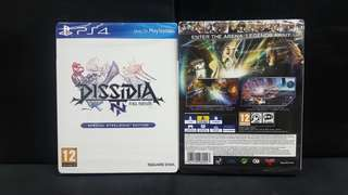 [BN] PS4 Dissidia Final Fantasy NT Special Steelbook Edition (Brand New)