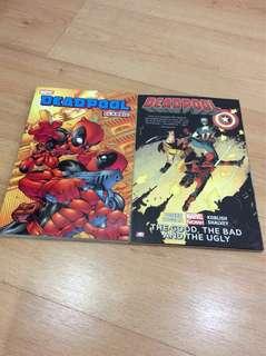 Marvel books (DeadPool)