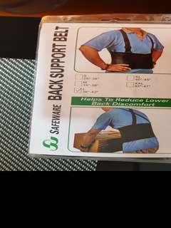 Safeware back support belt
