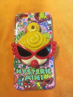 iPhone6 plus 黑超B hysteric mini電話殻