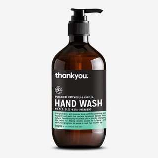 BOTANICAL PATCHOULI & VANILLA HAND WASH | 500ML