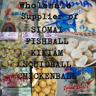 Siomai and balls