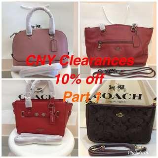 Original coach women sling bag handbag handbag purse pouch handbag purse wallet