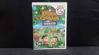 Wii Animal Crossing: City Folk (Used Game)
