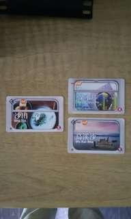 MTR Club地鐵票。收藏。每張$20