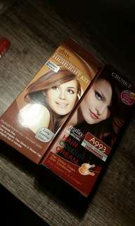 Hair colour / color hair dye bundle