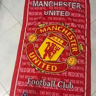 Manchester United bath towel 140x70
