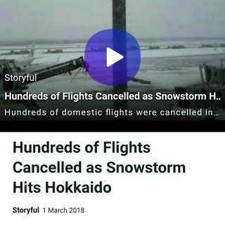 [NEWS ALERT] Japan Snowstorm