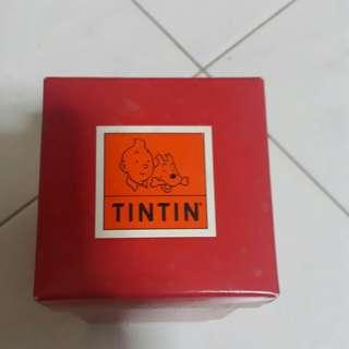 TINTIN special X'mas glass