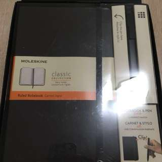 Moleskine Notebook 筆記本 套裝