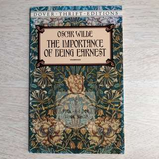 The Importance of Being Earnest - Oscar Wilde (Preloved)