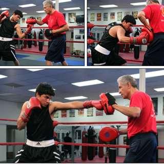 Boxing Padwork