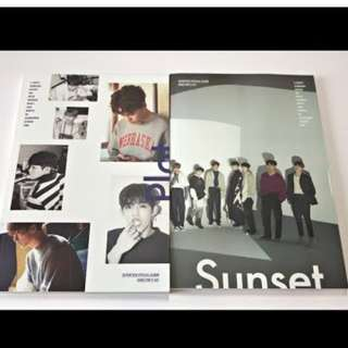ON HAND UNSEALED  Seventeen Special Album - Director's Cut (Sunset Version) - CD & Photobook  (Plot Version)