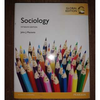 Sociology Fifteenth Edition: Global Edition