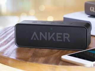 100% 全新 ANKER SoundCore Bluetooth Stereo Speaker 藍牙揚聲器 24 小時長氣播放