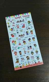 Korean Sweet Things Stickers