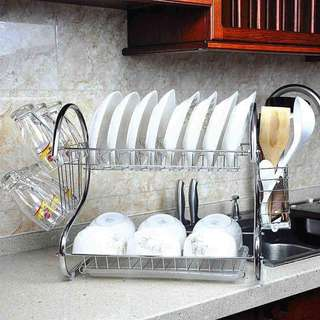 2 layer Dish rack drainer