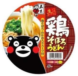 日本 免治雞烏冬杯麵