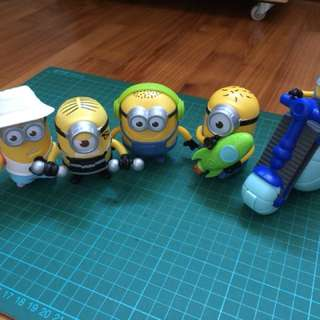 minions mcdonald happy meal