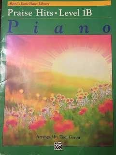 Praise Hits Level 1B Piano
