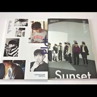 ON HAND SEALED Seventeen Special Album - Director's Cut (Sunset Version)  w/ Poster) (PLOT VERSION)