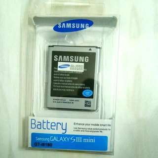 Genuine Samsung Galaxy S3 Mini / Trend Battery.