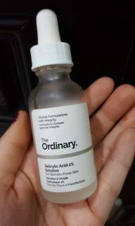 The ordinary salicylic acid 2% sollution