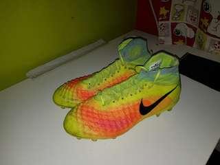 Nike Magista Obra II Volt and Black US 8