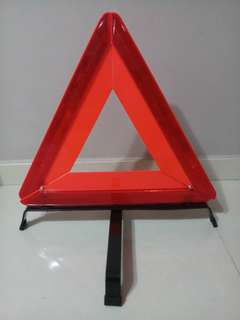 [PRICE DROP] Car Breakdown Sign Warning Triangle
