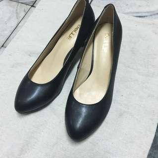 🚚 純牛皮 全新 素面高跟鞋 空姐一般面試都可用 面試鞋