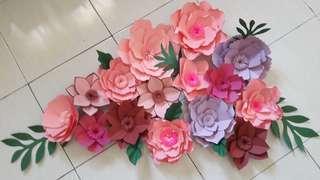 PAPER FLOWER / BUNGA KERTAS