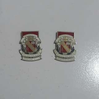 Convent H. I. J badge